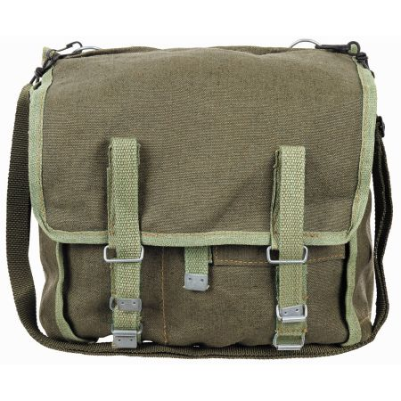PL bread bag, OD green, with strap, like new