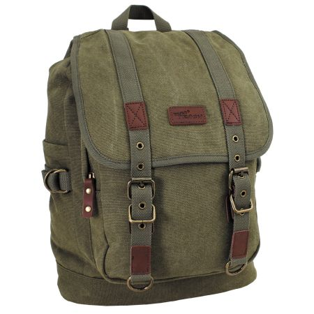 "Backpack, Canvas, ""PT"", OD green"