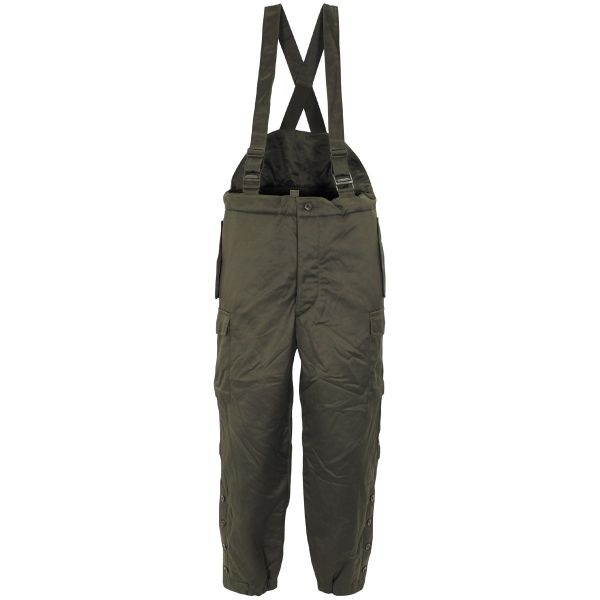 Winter thermo trousers, Army Austria