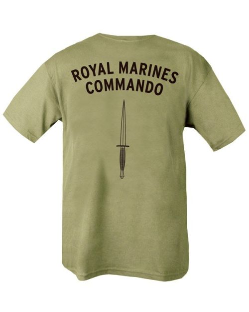 "Тениска ""Royal Marines Commando"""