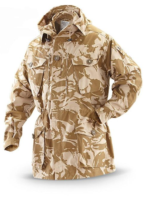 Army Fur Coat - United Kingdom, Desert, Desert