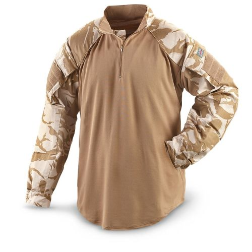 UK Army Combat shirt Desert  UBACs