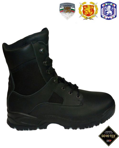 Tactical Cubes Police Boots, Gore-tex