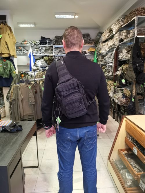 Mini Molle Recon Shoulder Pack - Black