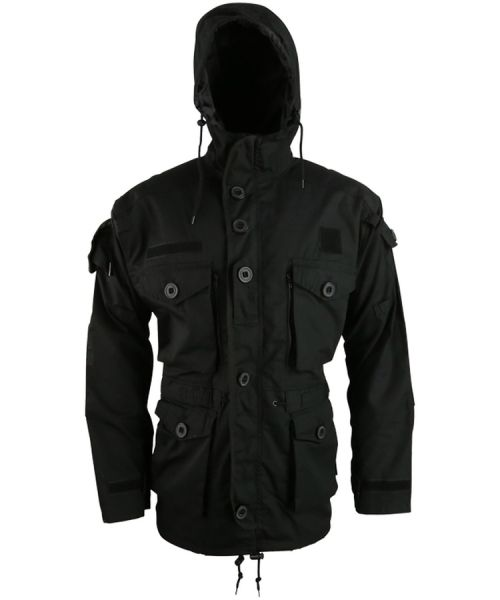 SAS Style Assault Jacket - Black