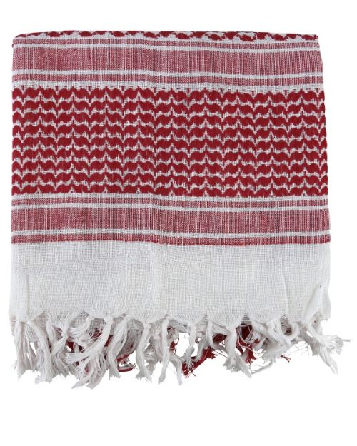 Shemagh scarf- Red and white