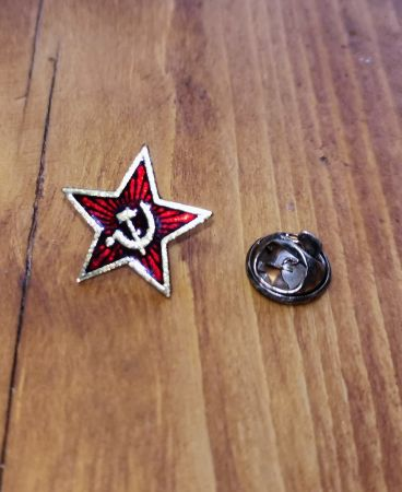Pin Badge  - Retro USSR