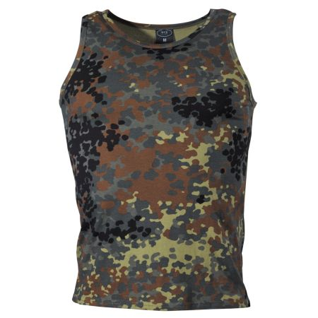 US tank top - Flecktarn