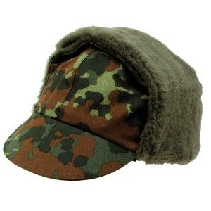 Army winter hat Flecktarn - Germany