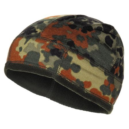BW Hat Fleece, Flecktarn