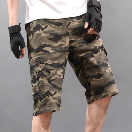 MEN'S MULTIPOCKET BERMUDA SHORTS