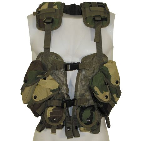 "US Vest, ""Load Bearing"", woodland, size-adjustable"