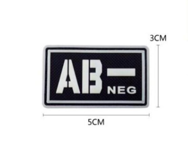 Blood group patch - AB-