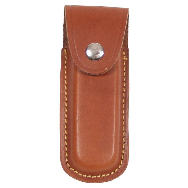 Knife Case, Leather, brown