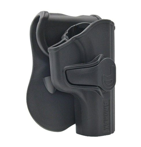 Polymer holster for Makarov pistol