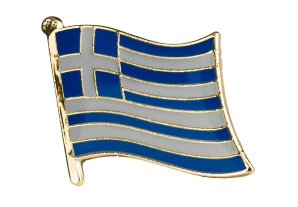 Badge - Greek flag