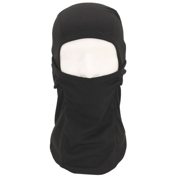 Balaclava hot weather Mask - Black