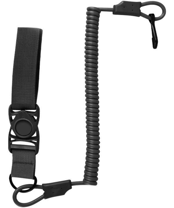 Safety extension cord - Black