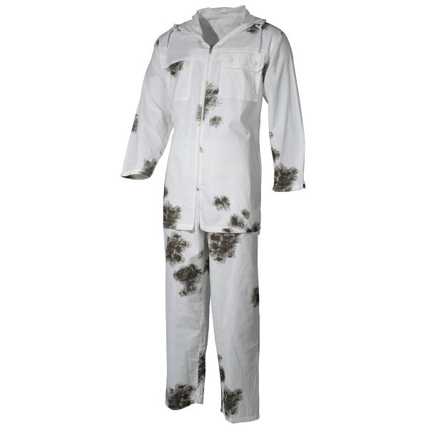 BW Snow Camo Suit, 2-part, pants/jacket