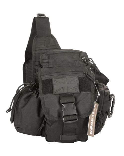 Operators Shoulder Pack 8 Litre - Black