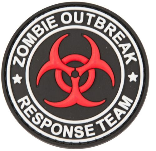 "Petic / Emblema  -"" Zombie Outbreak"""