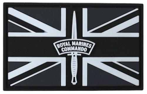 "Petic / Emblema - Marea Britanie ""Royal Marines Commando"""