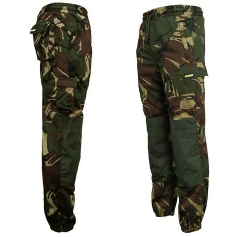 Camouflage Utility Joggers with Cargo Pockets