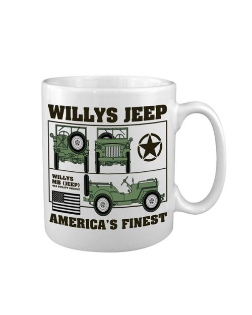 "Чаша, Керамика - "" Willys Jeep """