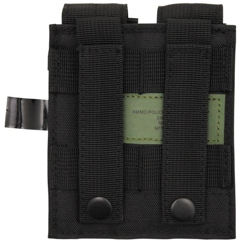 "Ammo Pouch, double, small, ""MOLLE"", black"