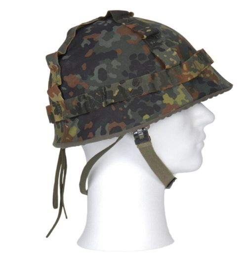 Army helmet cover BW, Flectarn, Germany
